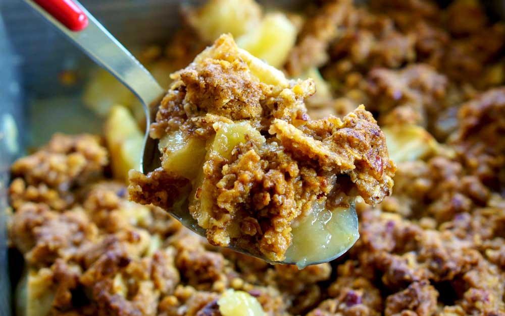 Step 6 - How to Easy Apple Crisp