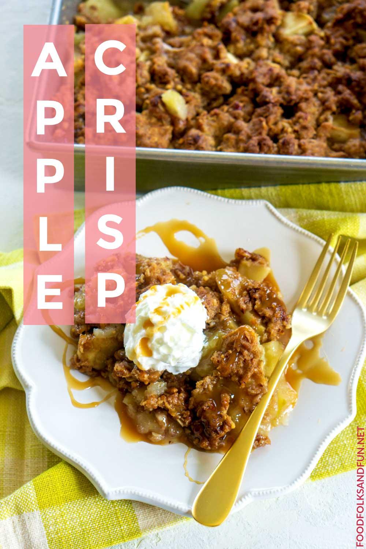 Apple Crisp easy recipe!