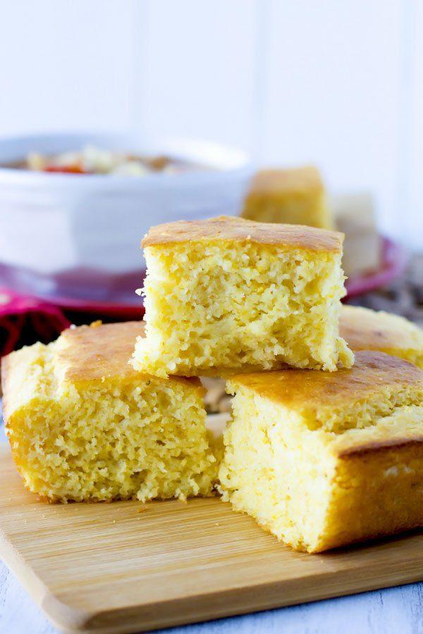 Simple Sour Cream Cornbread recipe