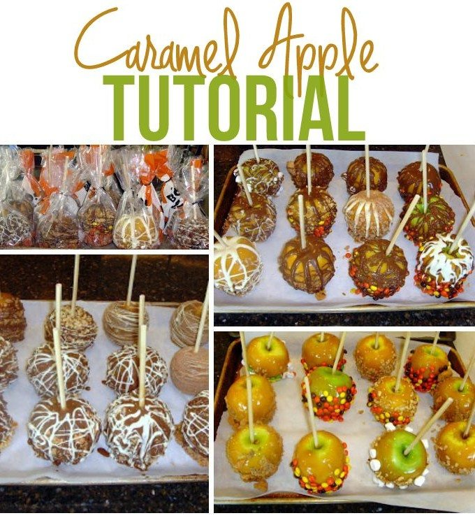 Caramel Apples Tutorial