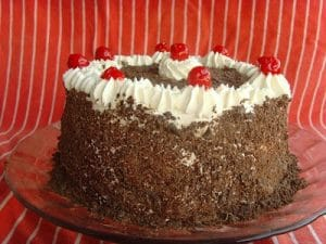 Original picture of Black Forest Cake from November 2010.