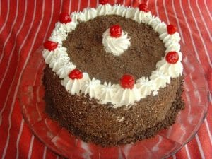 Original picture of Black Forest Cake from 2010.
