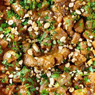 Thai peanut sauce with chicken recipe