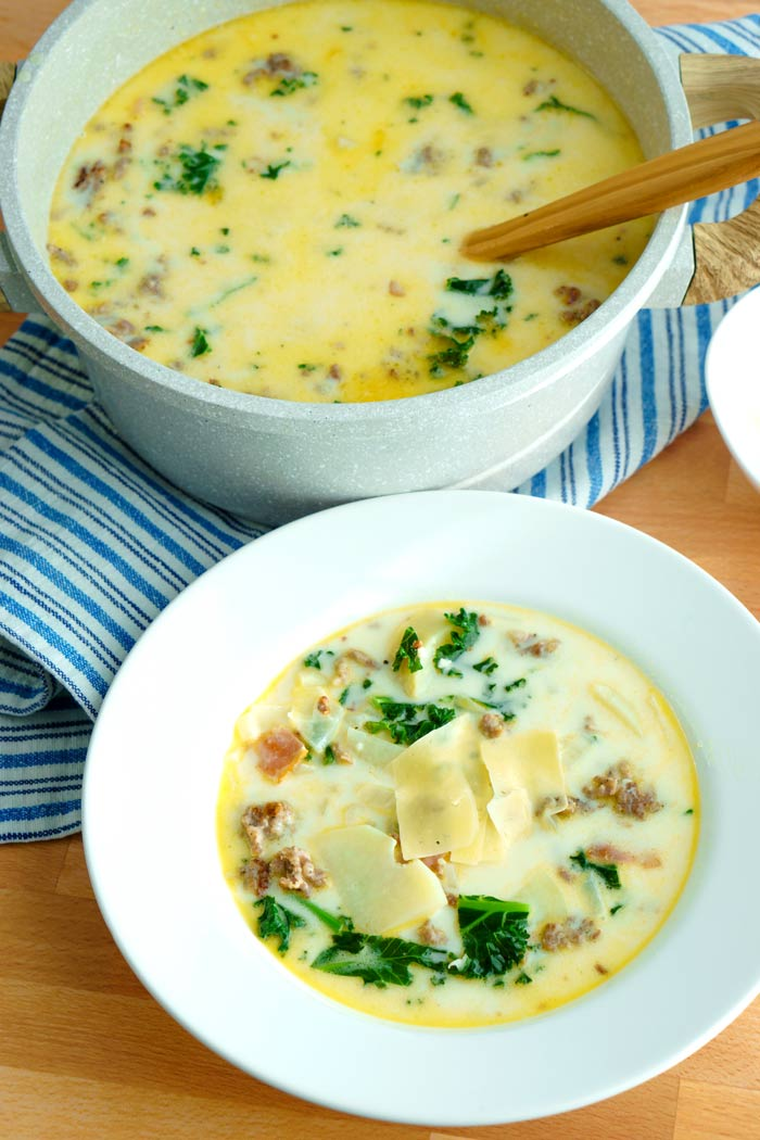 Zuppa Toscana Copycat Olive Garden Recipe Food Folks And Fun