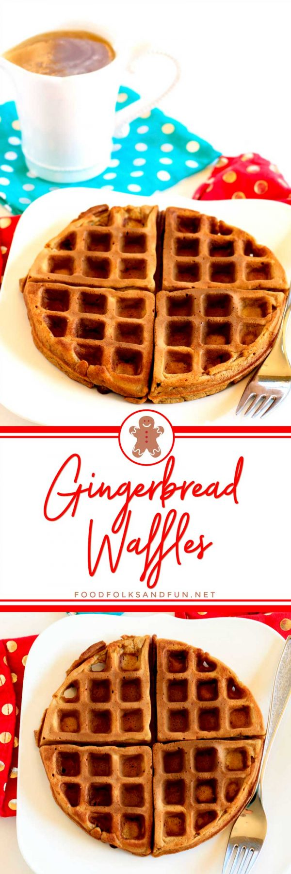 Best-Ever Gingerbread Waffles