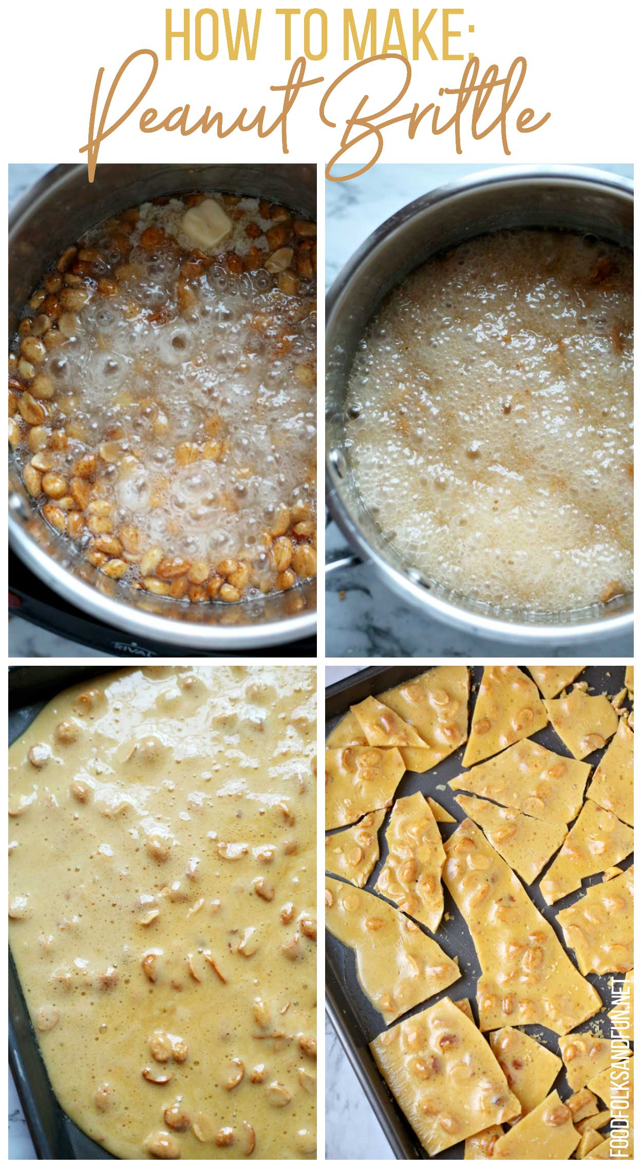 How to Make Old Fashioned Peanut Brittle