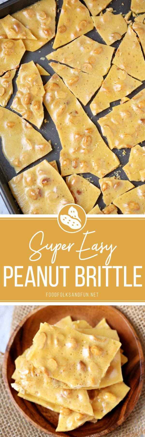 The best peanut brittle ever!