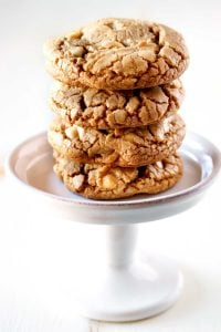 White Chocolate Macadamia Nut Cookies for bake sales