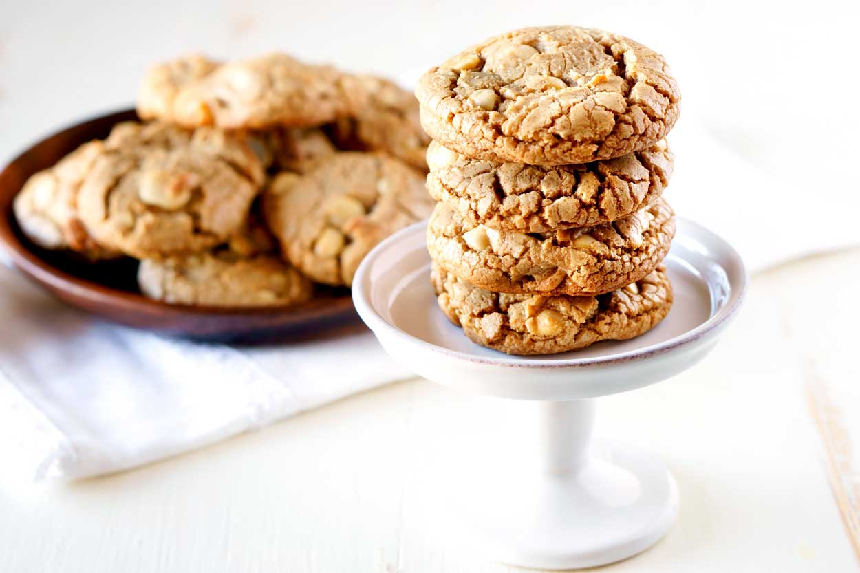 Bake Sale recipe: White Chocolate Macadamia Nut Cookies