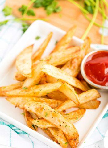 Crispy Baked Oven Fries recipe