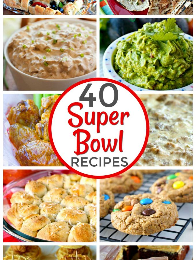 40 Super Bowl Food Ideas