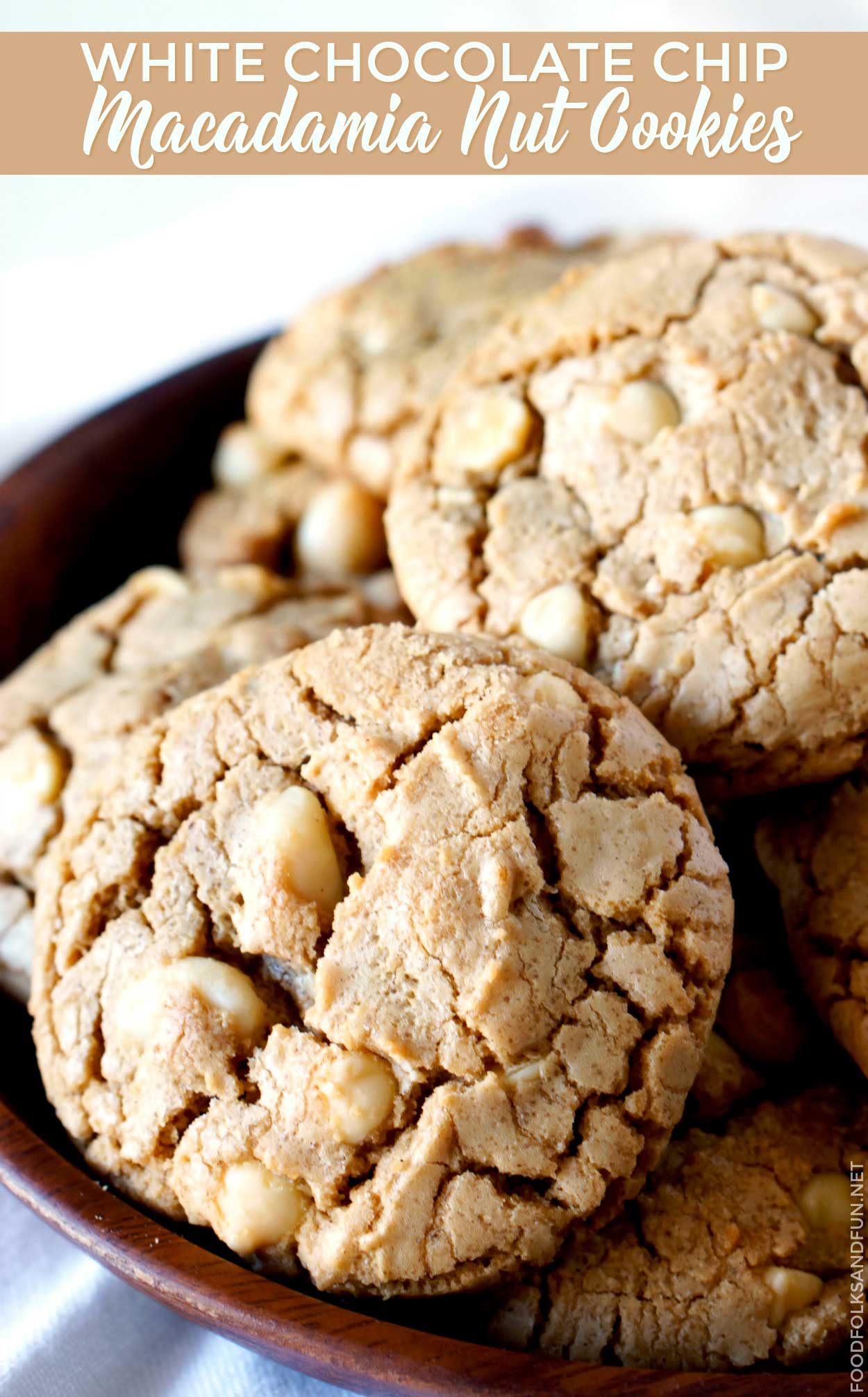 Best White Chocolate Macadamia Nut Cookies recipe!