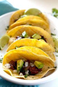 The best Carne Asada Street Tacos