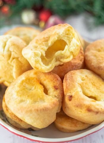 Yorkshire Pudding made in muffins