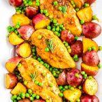 Skillet Chicken Vesuvio
