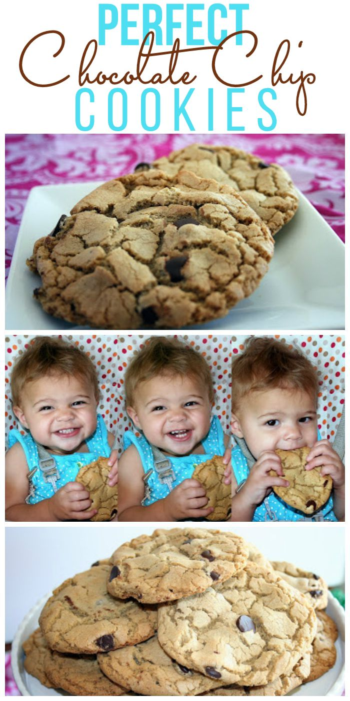 Perfect Chocolate Chip Cookies • Food, Folks and Fun