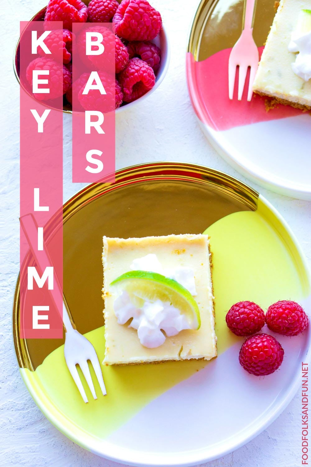 Delicious, zesty Key Lime Bars.