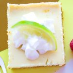 Classic Key Lime Pie in Bars form!
