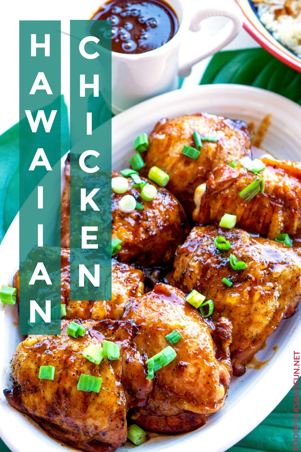 The BEST Hawaiian Chicken recipe!