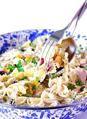 Quick and Easy Poppy Seed Pasta Salad recipe