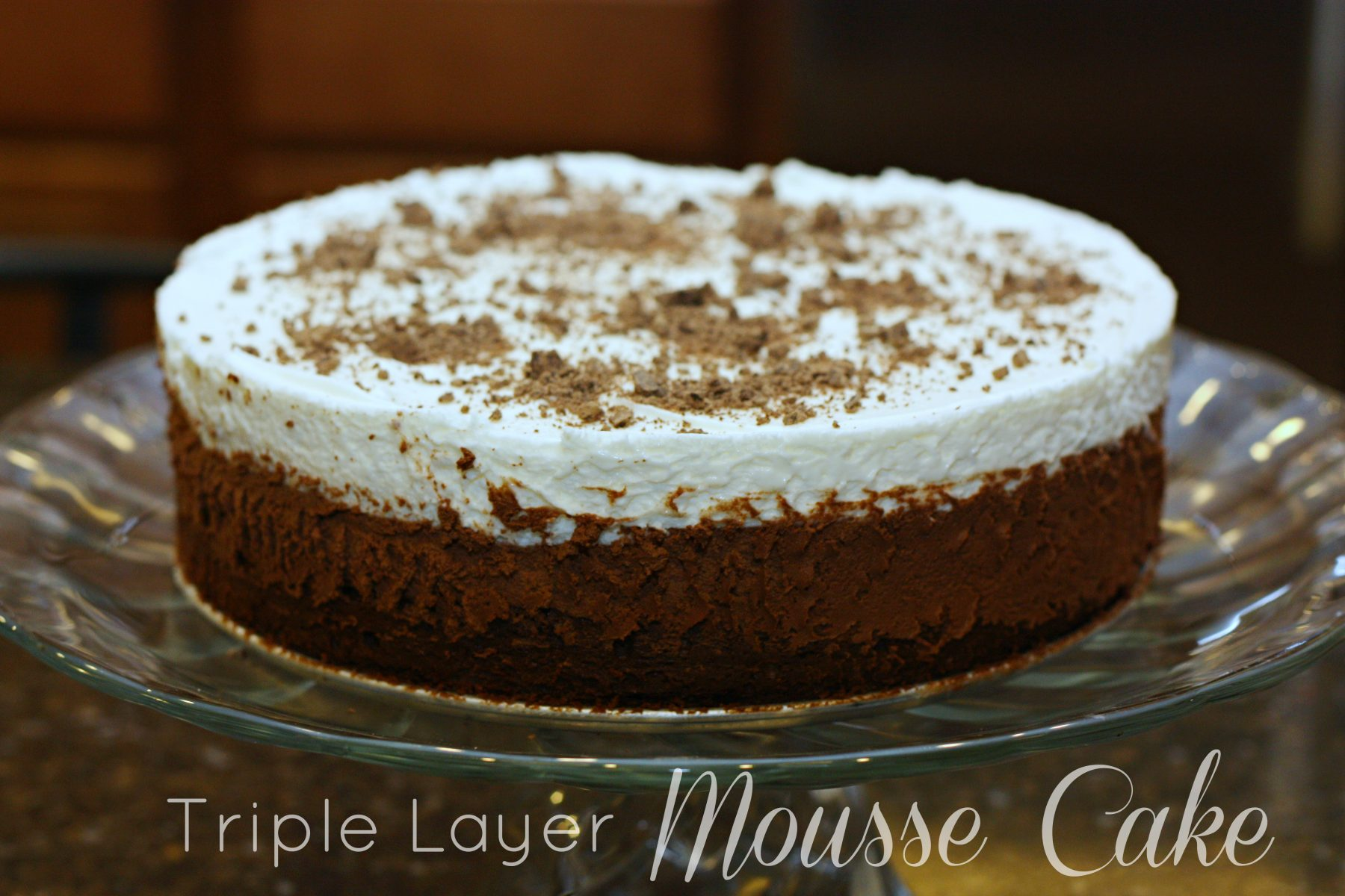 Triple Chocolate Mousse Cake • Food, Folks and Fun