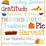 free printable for Thanksgiving subway art
