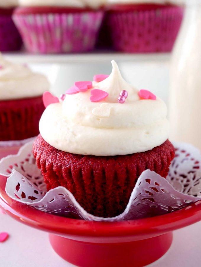 Best Red Velvet Cupcake recipe made from scratch