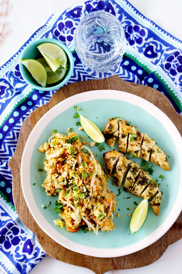 Fried Rice with all of the flavors of classic Pad Thai.