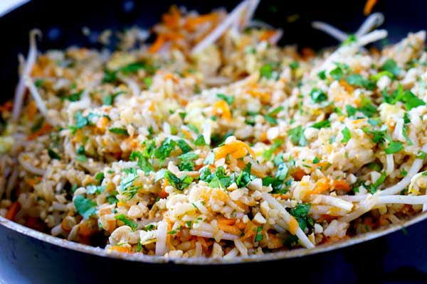 Quick and Easy Pad Thai Fried Rice