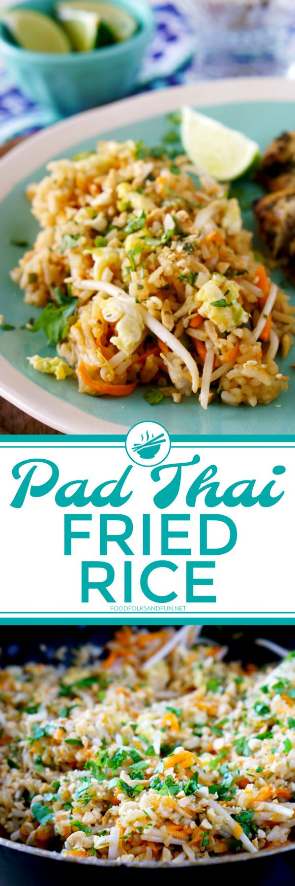 Pad Thai Fried Rice Recipe
