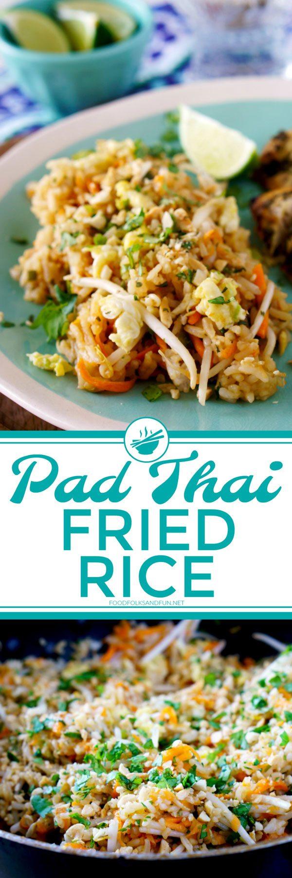 Pad Thai Fried Rice Recipe