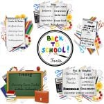 25 FREE Back to School Fonts