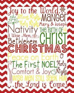 Christmas+Subway+Art-Green