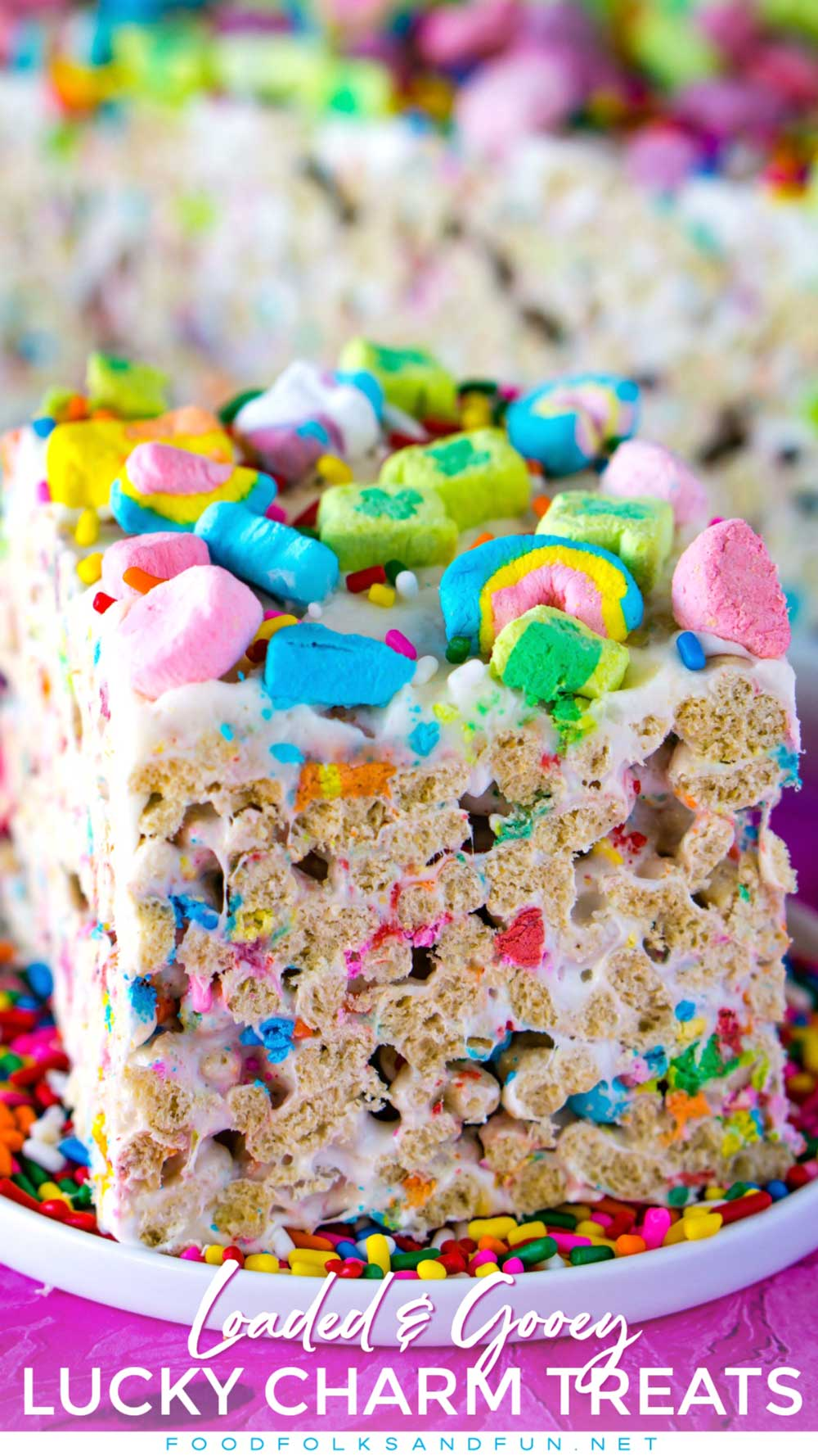 BEST Lucky Charms Marshmallow Treats