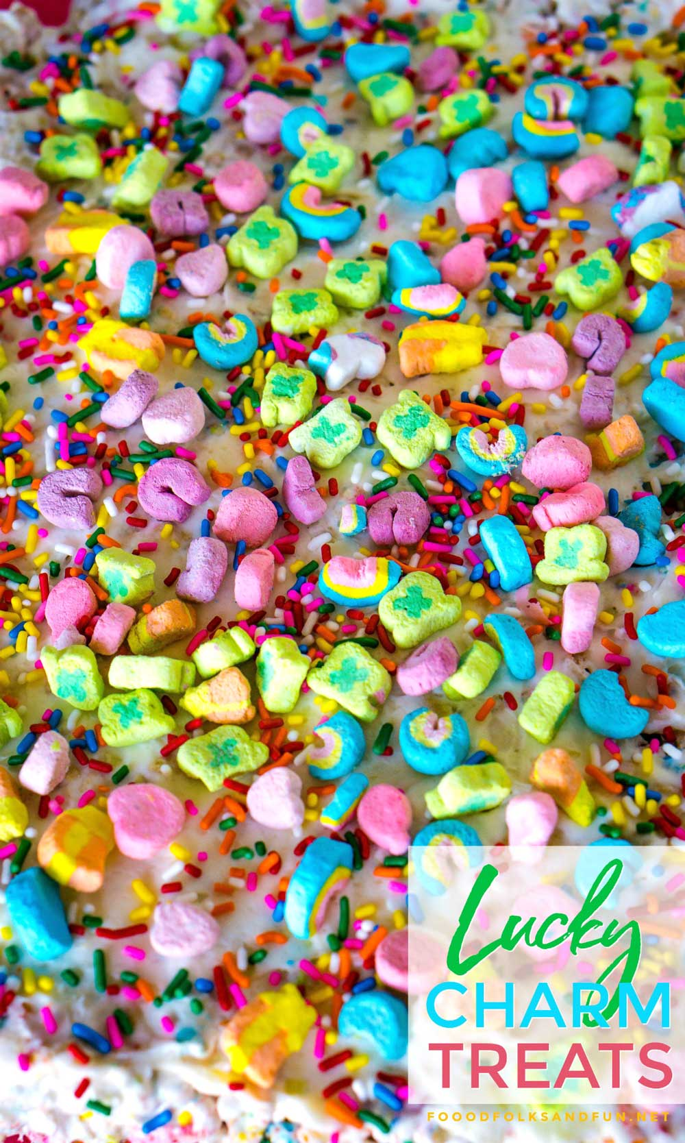 BEST Lucky Charms Marshmallow Treats recipe
