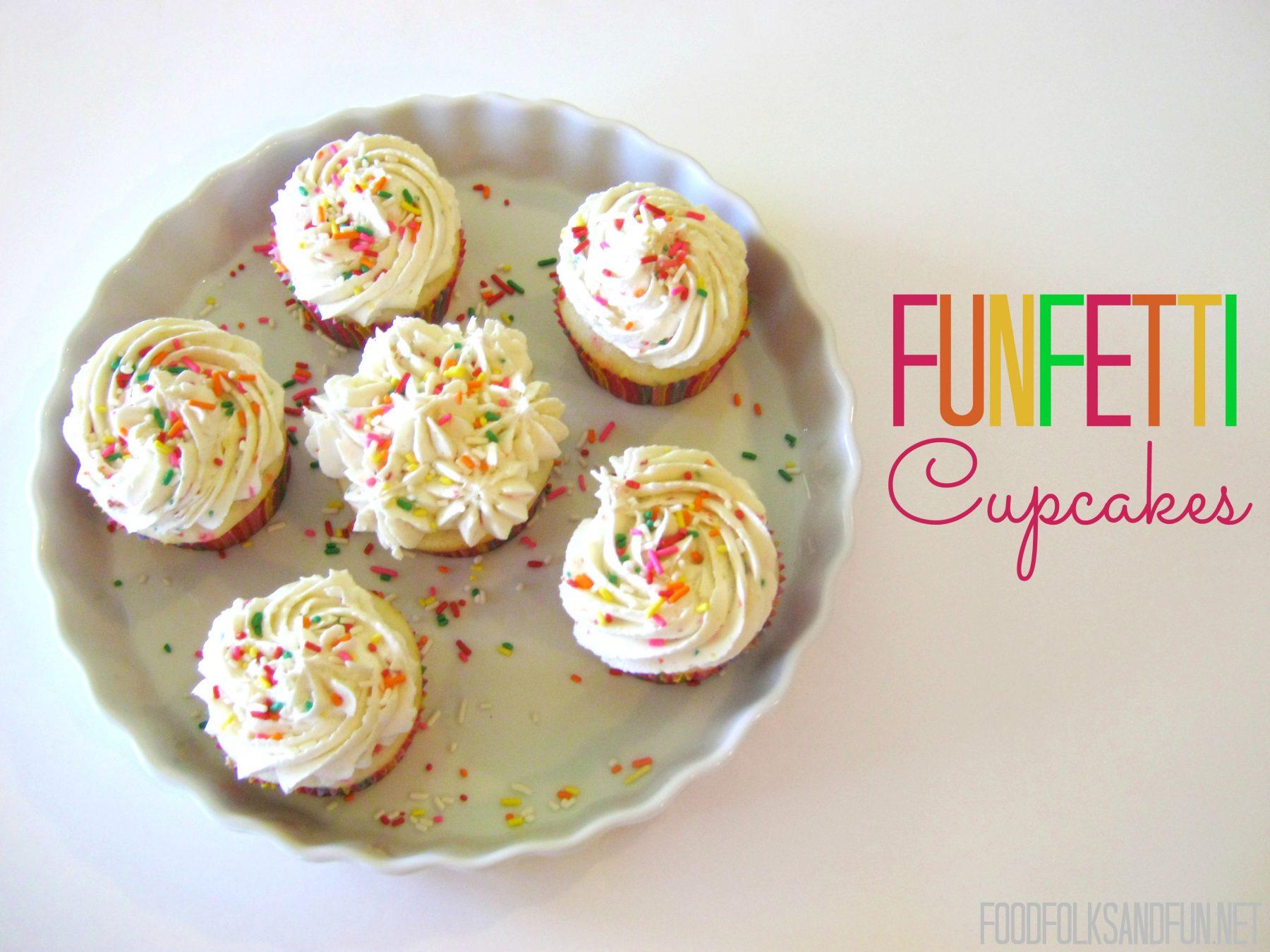 Funfetti Cupcakes & a Little Announcement