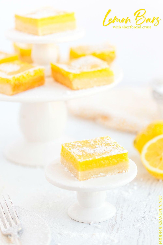Best-ever Lemon Bars!