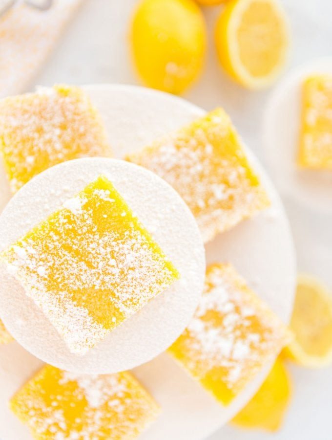 Zesty Lemon Bars with Shortbread Crust