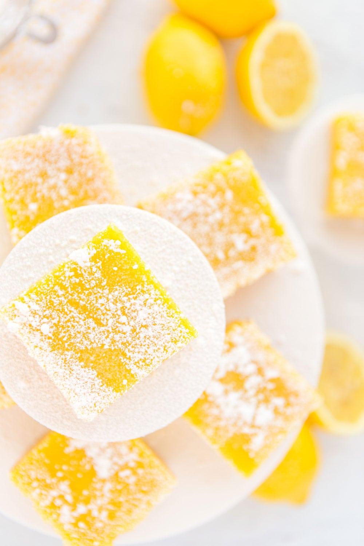 The best Lemon Squares recipe! Gotta love that shortbread crust!