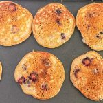 Cook the pancakes until they are golden brown in both sides.
