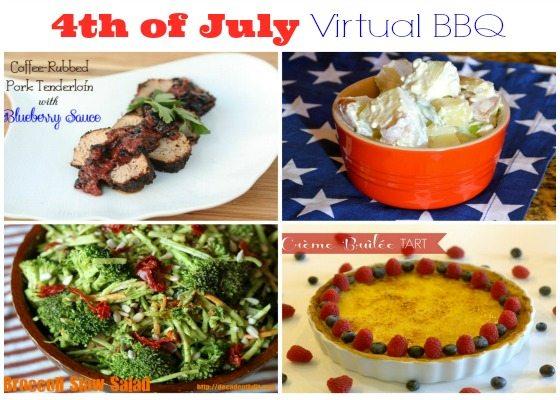 Crème Brûlée Tart & a 4th of July Virtual BBQ