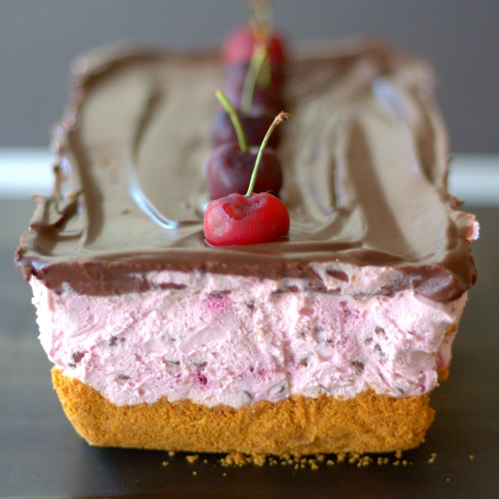 No-Bake Cherry Chocolate Cheesecake-fg