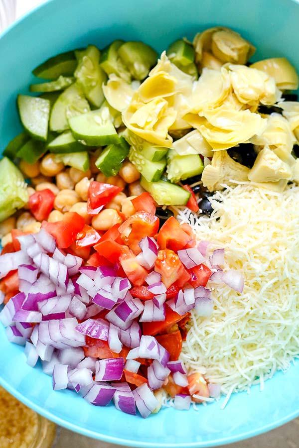 How to make Italian Pasta Salad.