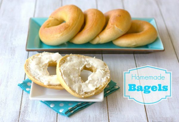 Homemade Plain Bagels