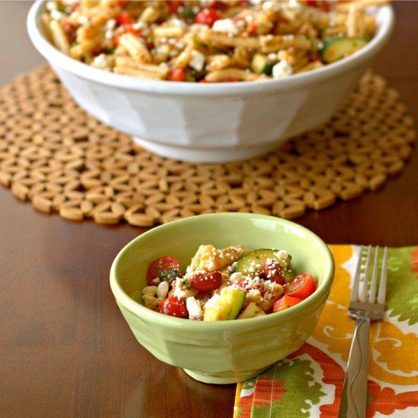 Gazpacho Pasta Salad