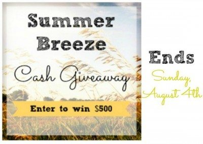 SummerBreeze Cash Giveaway