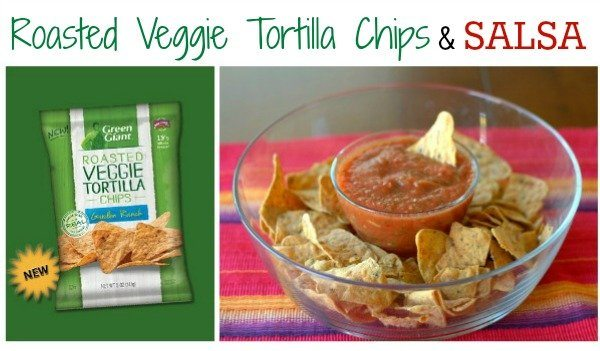 Veggie Chips and Salsa