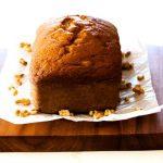 A loaf of Pumpkin Pie-Spiced Pumpkin Bread