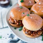 Sloppy Janes recipe for an easy and healthy weeknight meal!