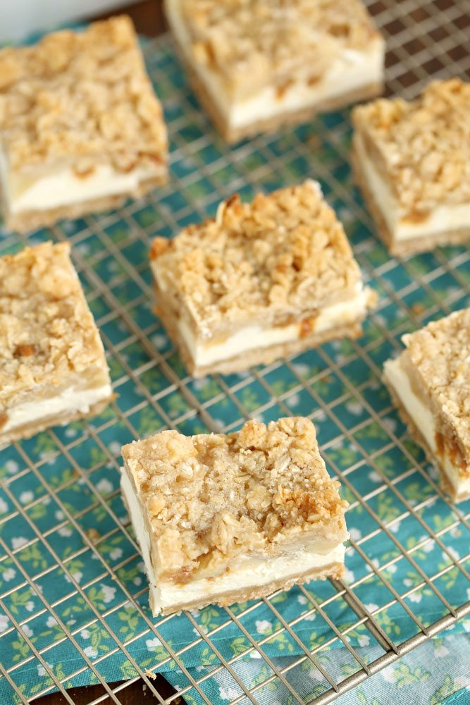 Best-ever Caramel Apple Cheesecake Bars recipe!